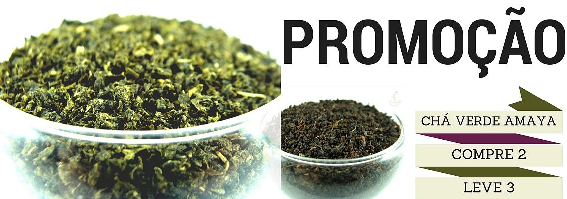 Promoção chá verde Amaya