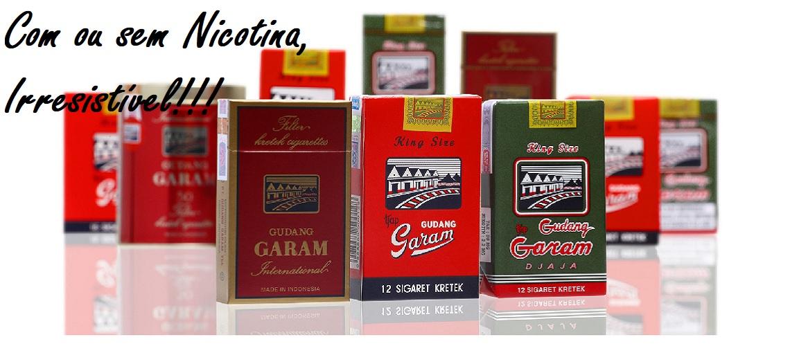 Líquido Cigarro Eletrônico Gudang Garam e-Health