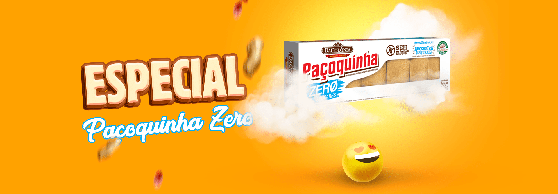 Paçoquinha Zero