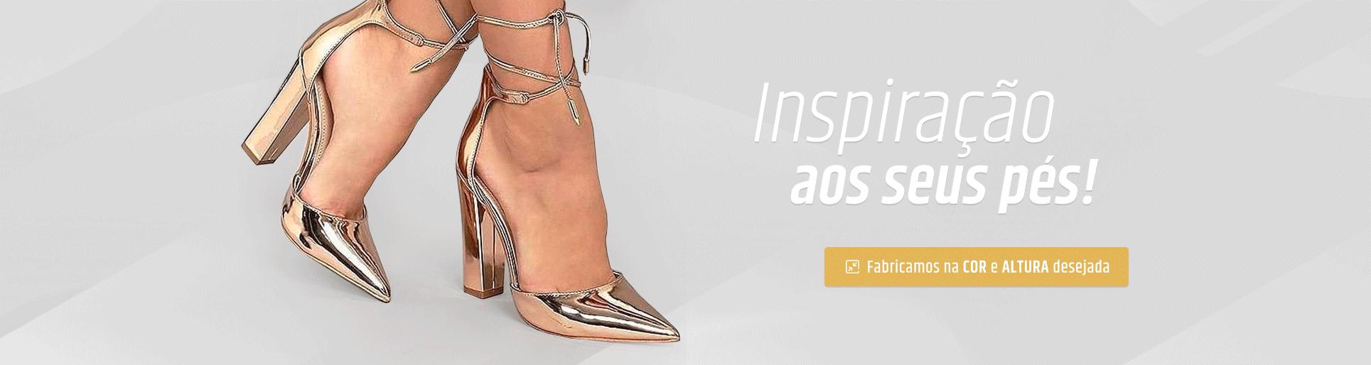 Inspiração aos seus pés!