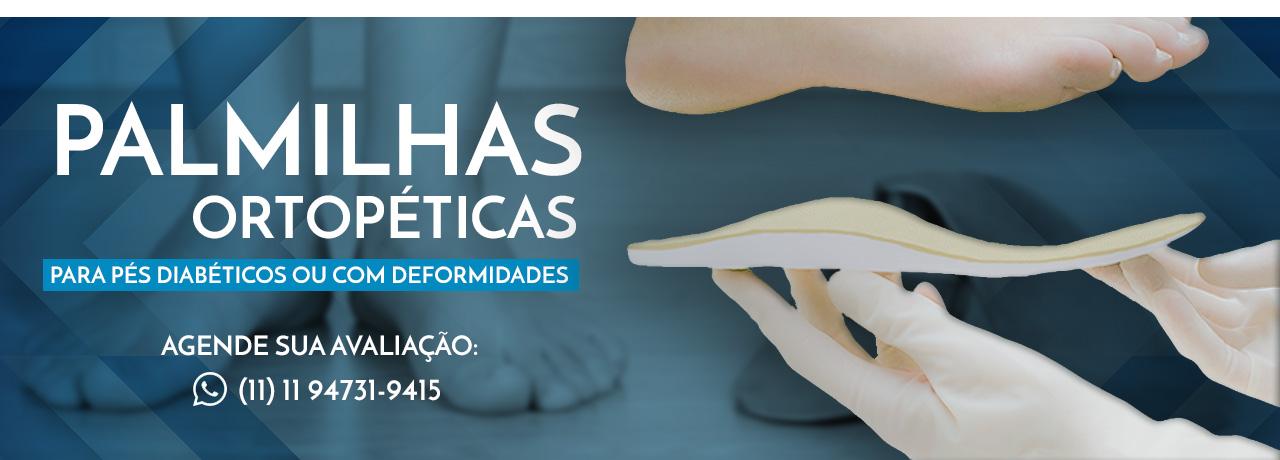 Palmilhas ortopédicas