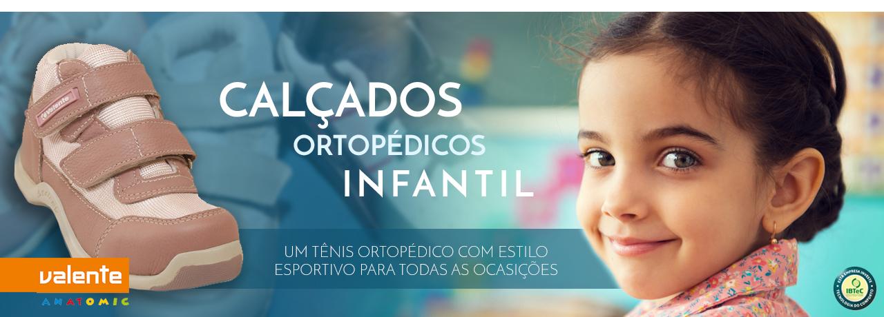 Tênis ortopédico