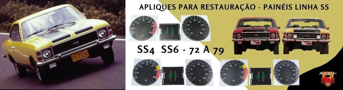 Apliques Restauração Painéis Opala SS 72a79