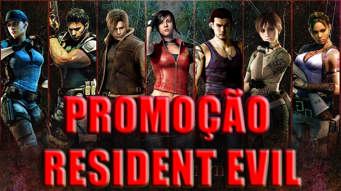 promoção resident evil