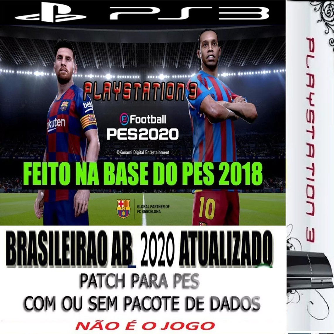 patch pes 2018 ps3