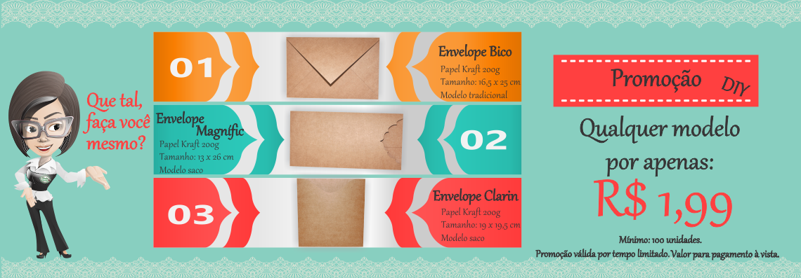 Envelopes Rusticos