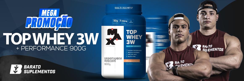 Top Whey 3W l(900g) Max Titanium