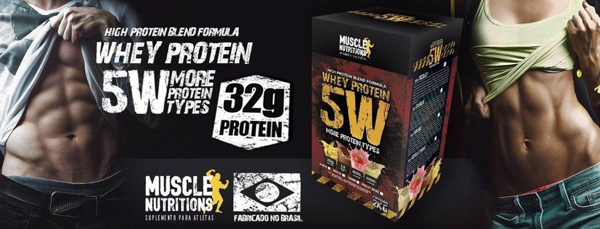 Whey 5w Muscle