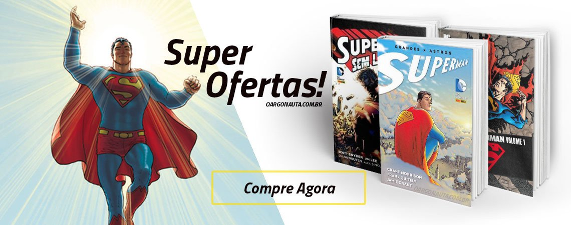 super ofertas quadrinhos superman