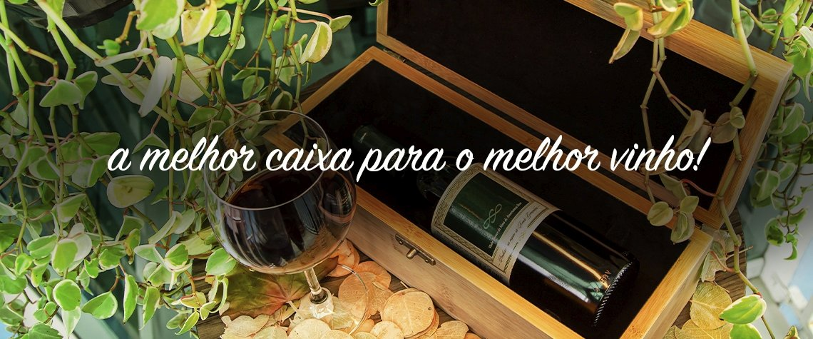 Porta Vinho Bamboo