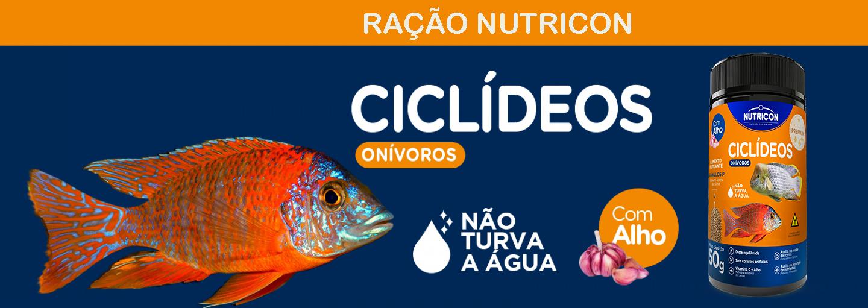 Ração Nutricon Ciclídeos - 1440x511