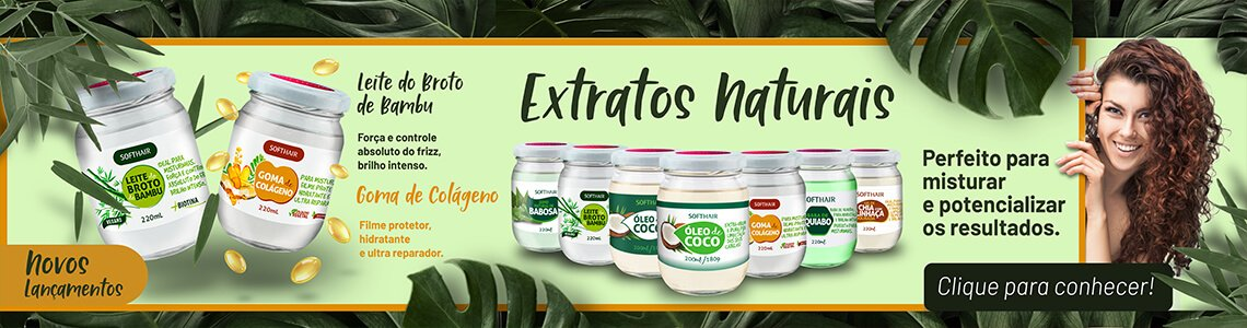 Banners Extratos Naturais