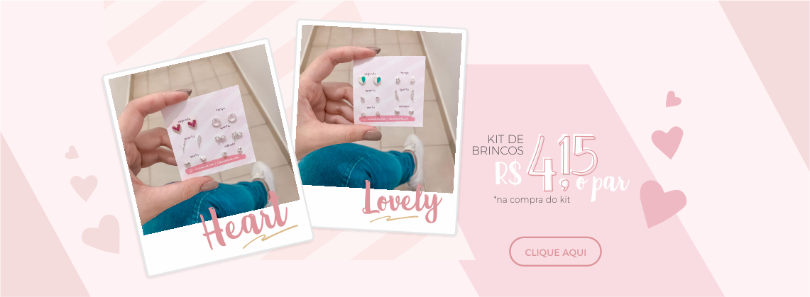 Kit de brincos - Design Juliana Neves - 02-10-19