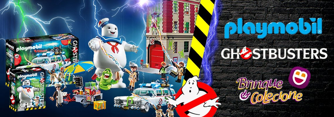 PLAYMOBIL (ghostbusters)