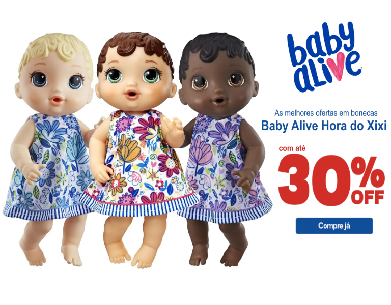 Baby Alive Hora do Xixi - mobile
