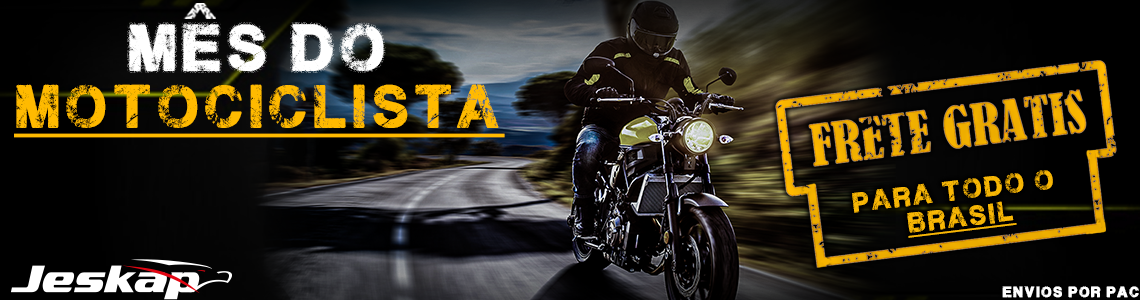 frete gratis motociclista
