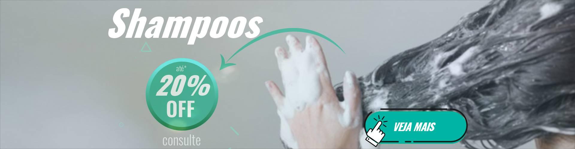Shampoos 20%off