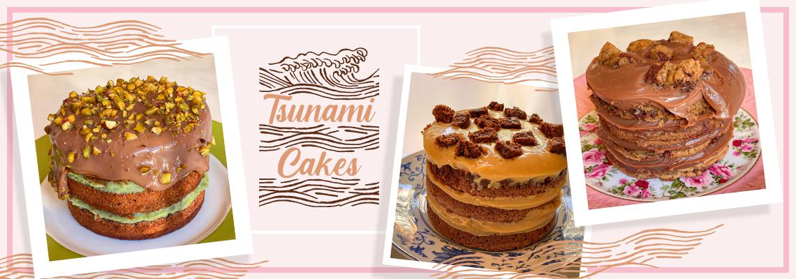 tsunami cakes