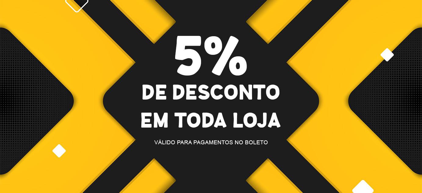 Desconto 5% Boleto