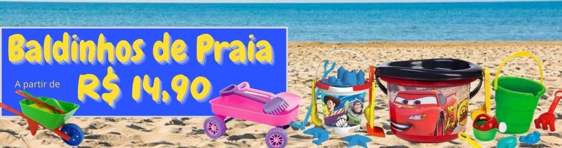 baldinho de praia