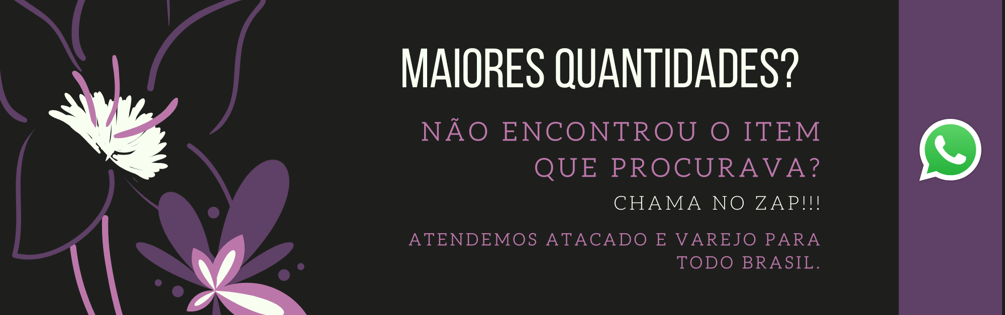 ROXO MAIORES QUANTIDADES