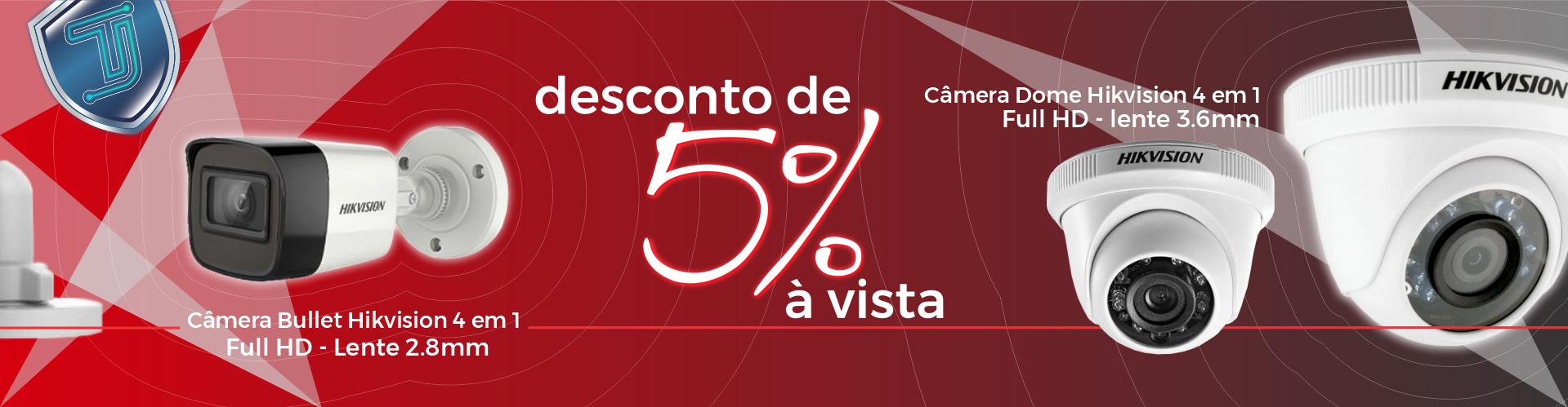 Full Banner - Camera Bullet 4 em 1 FullHD Desconto 5% a vista