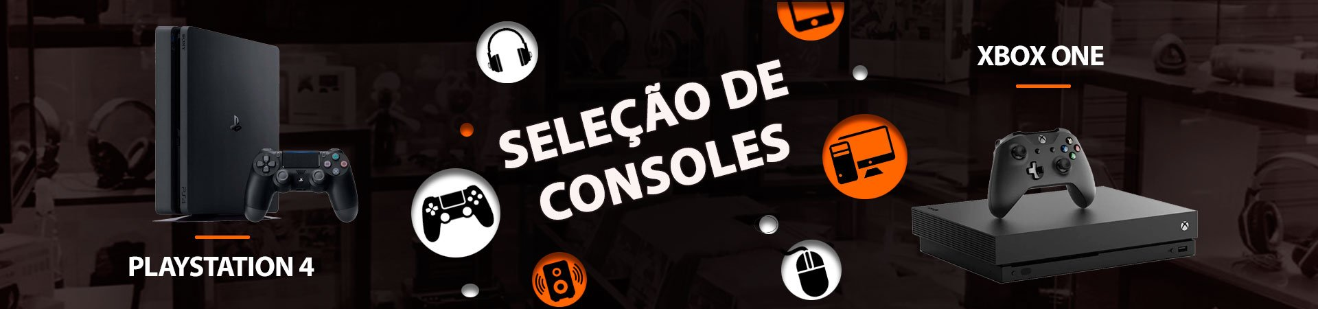 Banner Consoles Novos