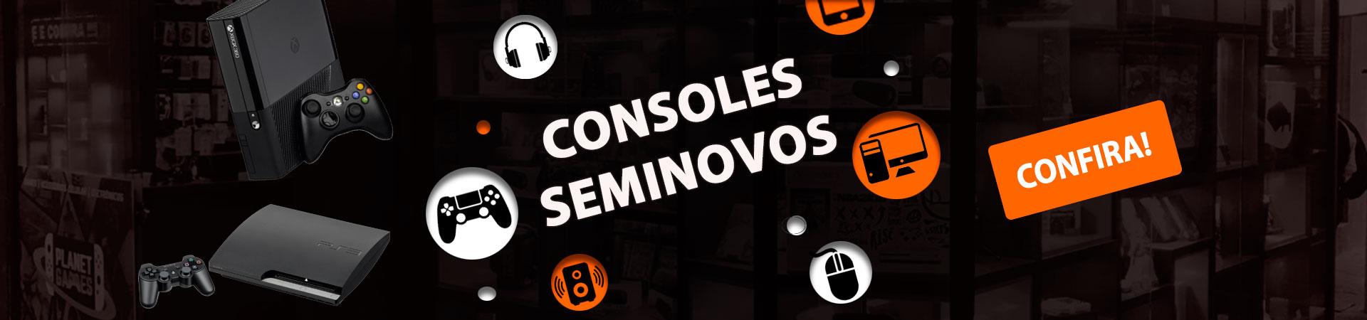 Banner Consoles Seminovos