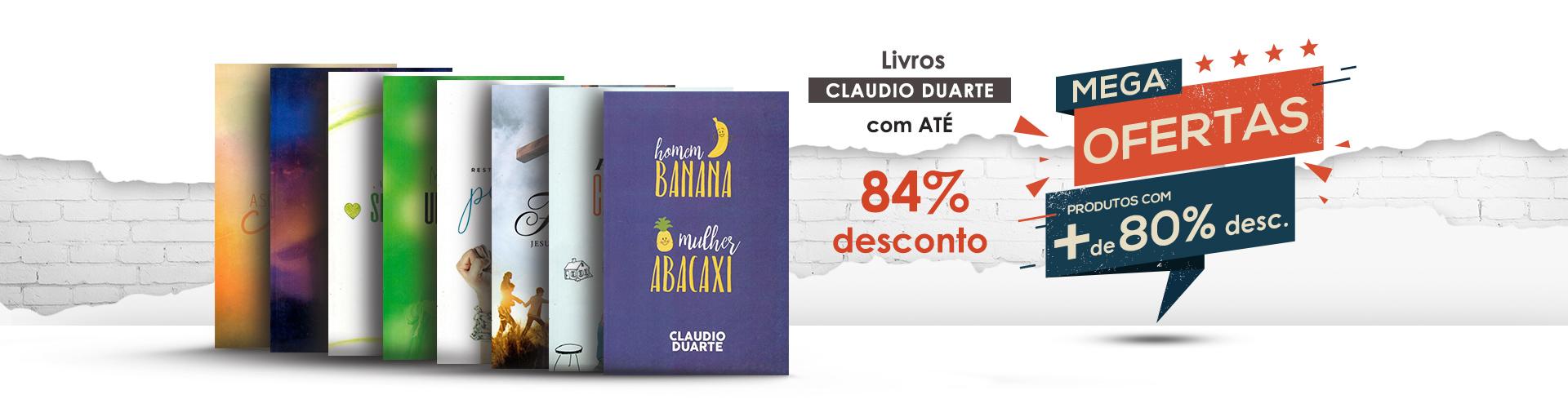 Livros Claudio Duarte