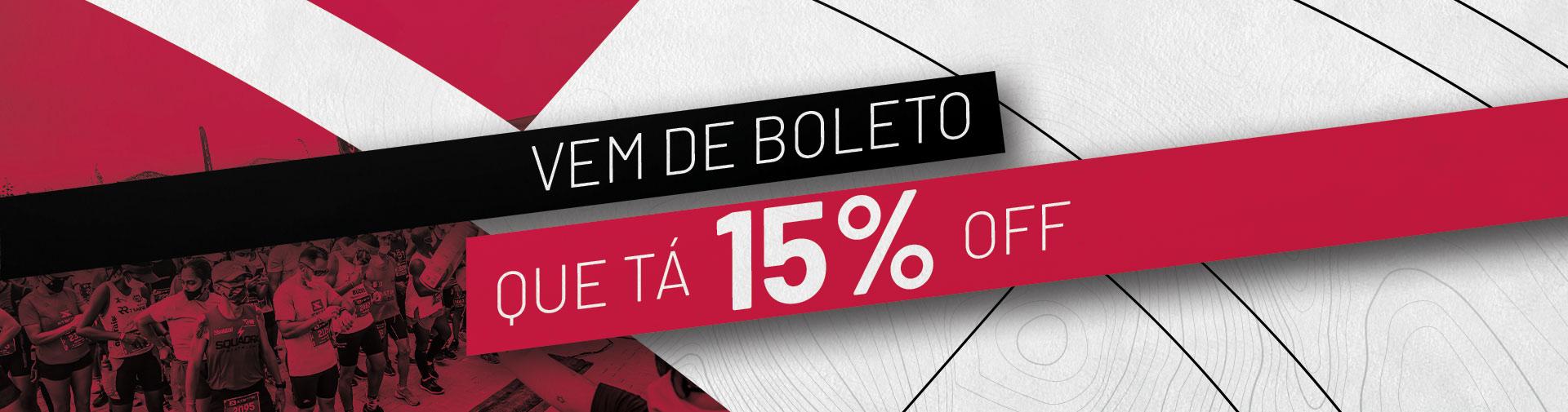 SALDÃO DE VERÃO BOELTO 15% OFF