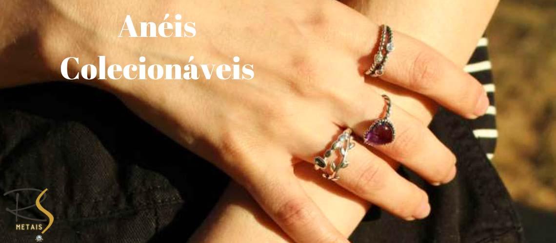cat - Anéis colecionáveis