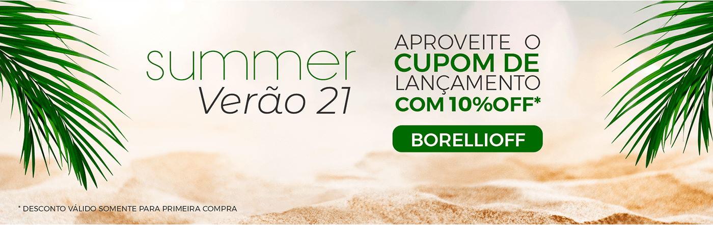 Banner Lançamento Verão