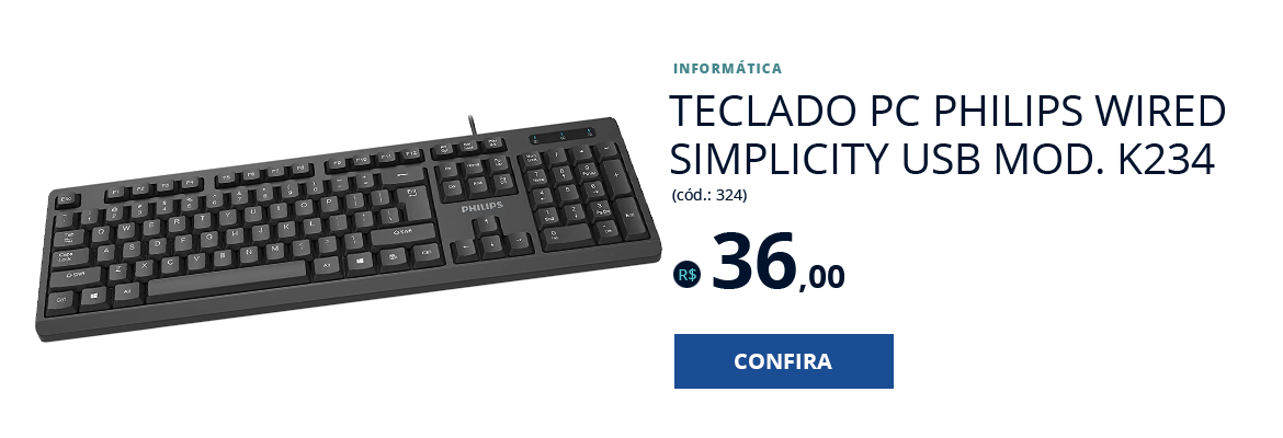 Teclado PC PHILIPS