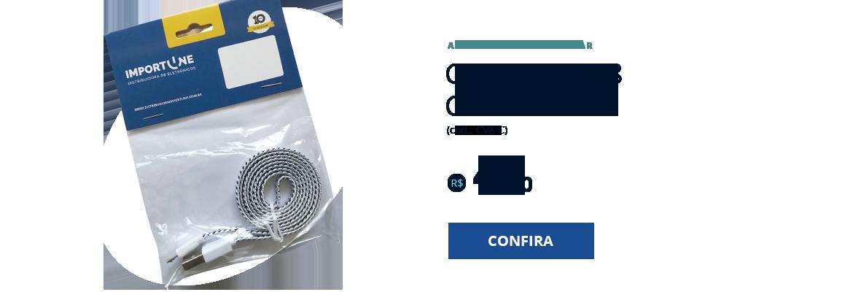 CABO USB V8 CORDA