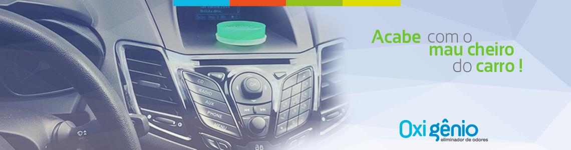 Eliminador de odor para carros