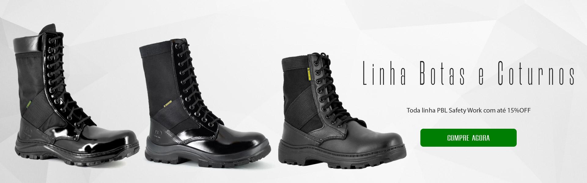 Linha Palmilhados botas e cuturnos