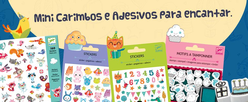 Banner Carimbos e adesivos