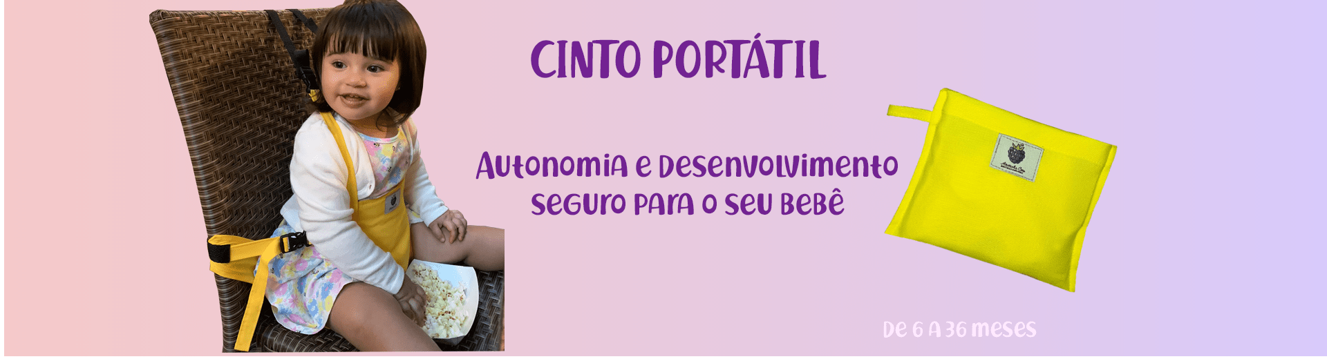 Cinto Portátil Amorinha Care