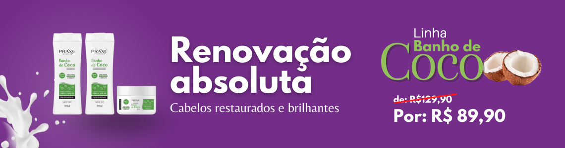 Banner Banho de Coco