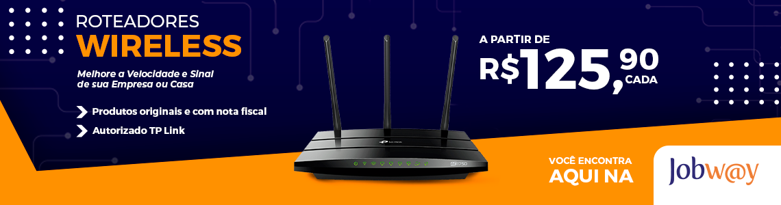 Sinal de Wi-fi -Roteadores