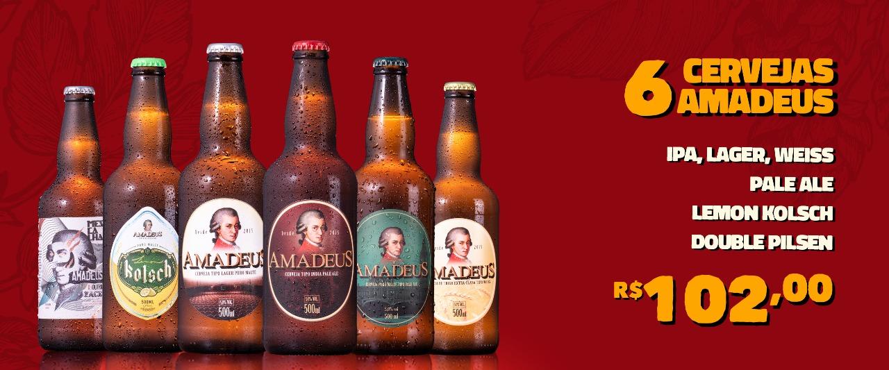 6 cervejas amadeus
