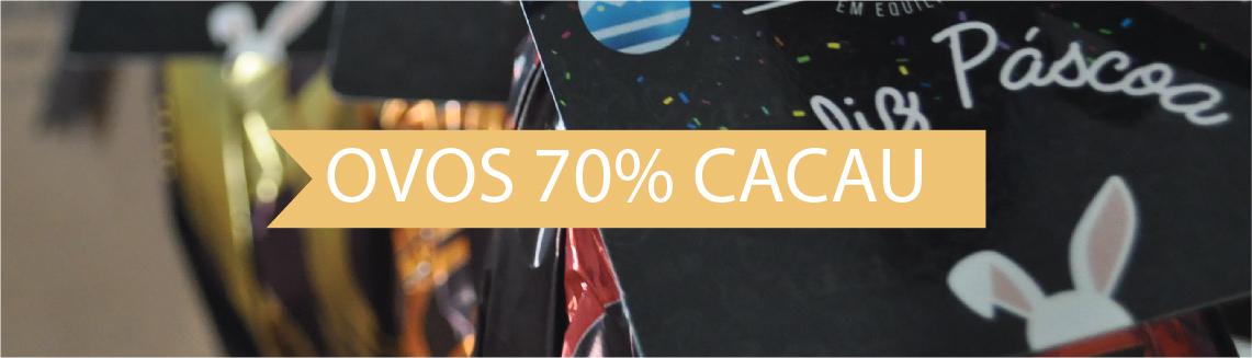 Pascoa 70% cacau