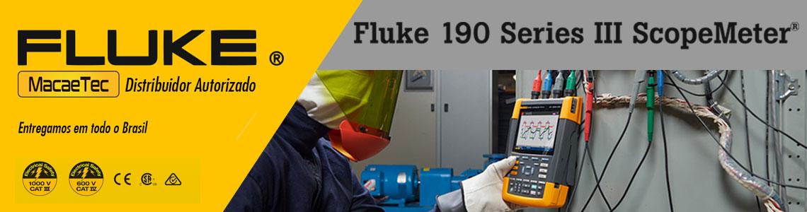 Ferramenta de teste ScopeMeter® Fluke 190
