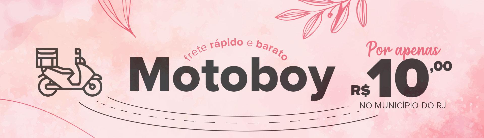 Motoboy R$10