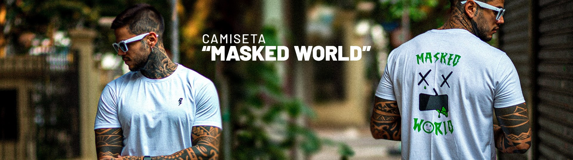 Camiseta Masked World
