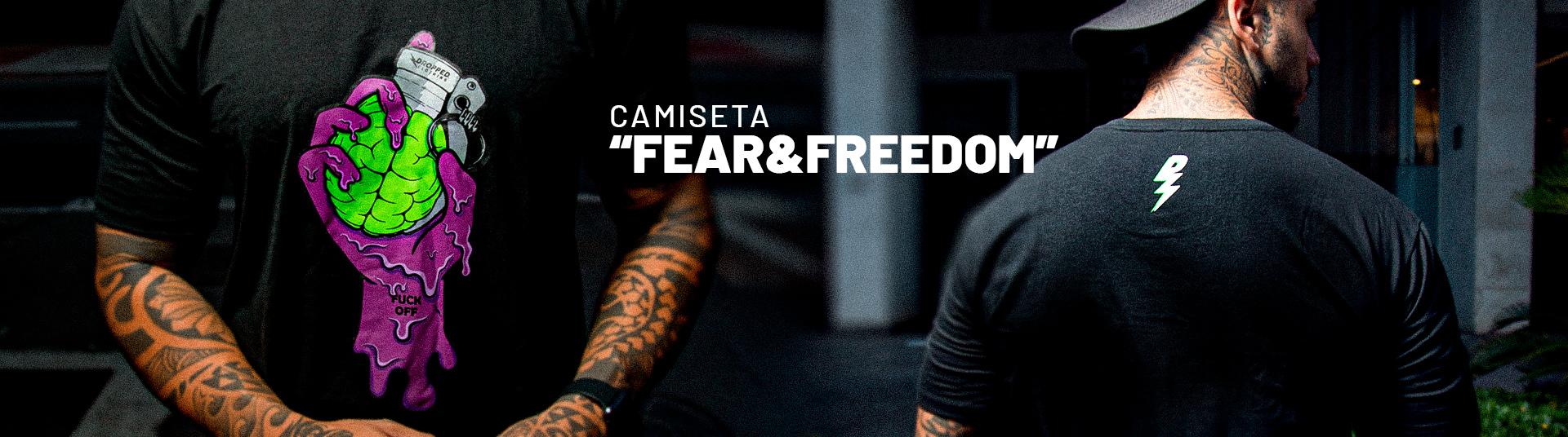 Camiseta Fear&Freedom1