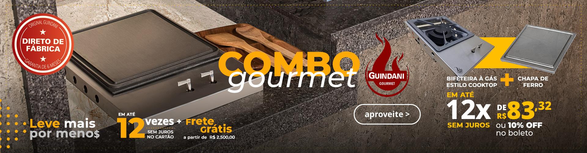 Combo Gourmet - Bif + Chapa