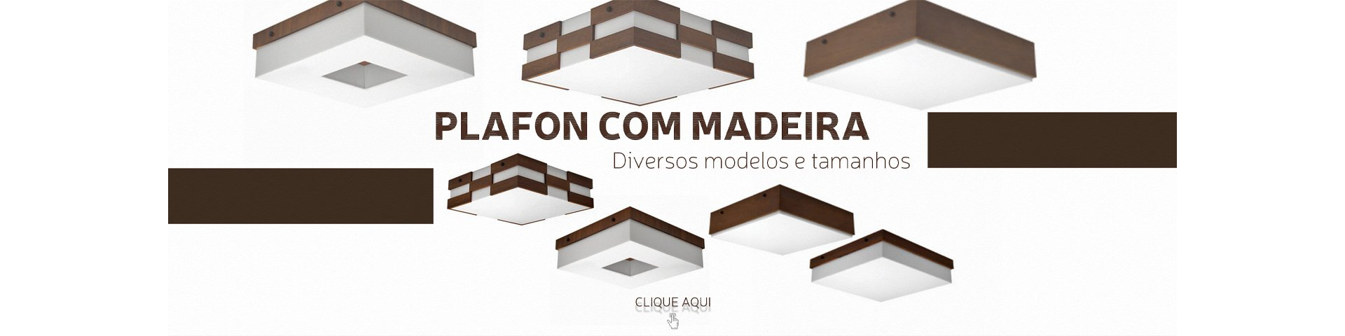 Plafon com Madeira