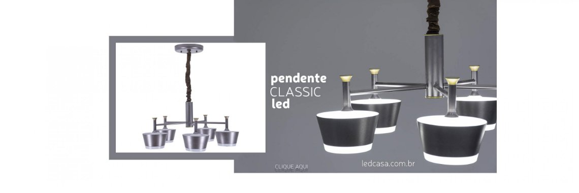 Pendente Classic Led