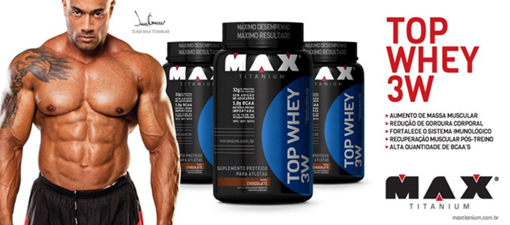 top whey 900g max